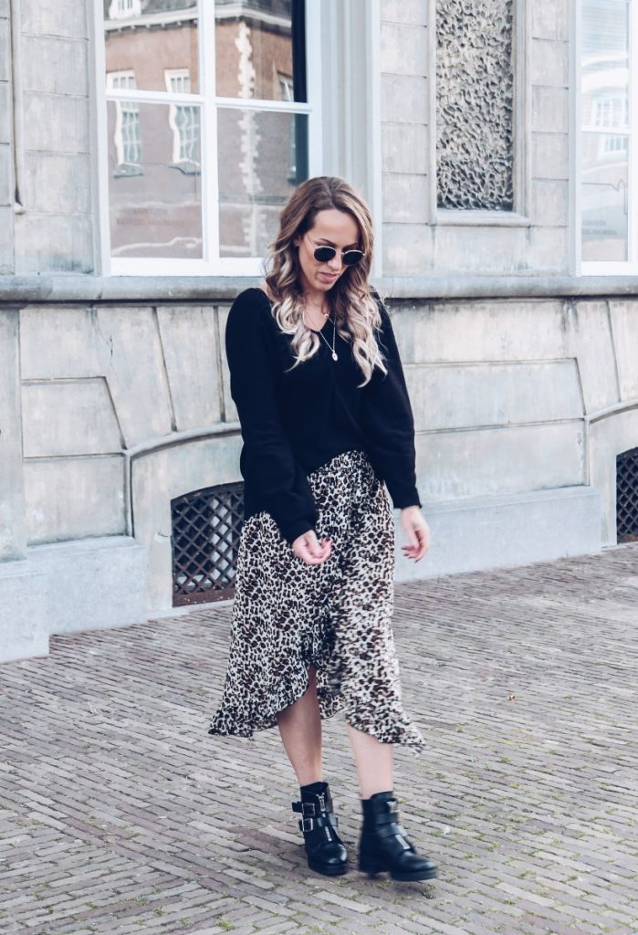 Favoriete leopard rok