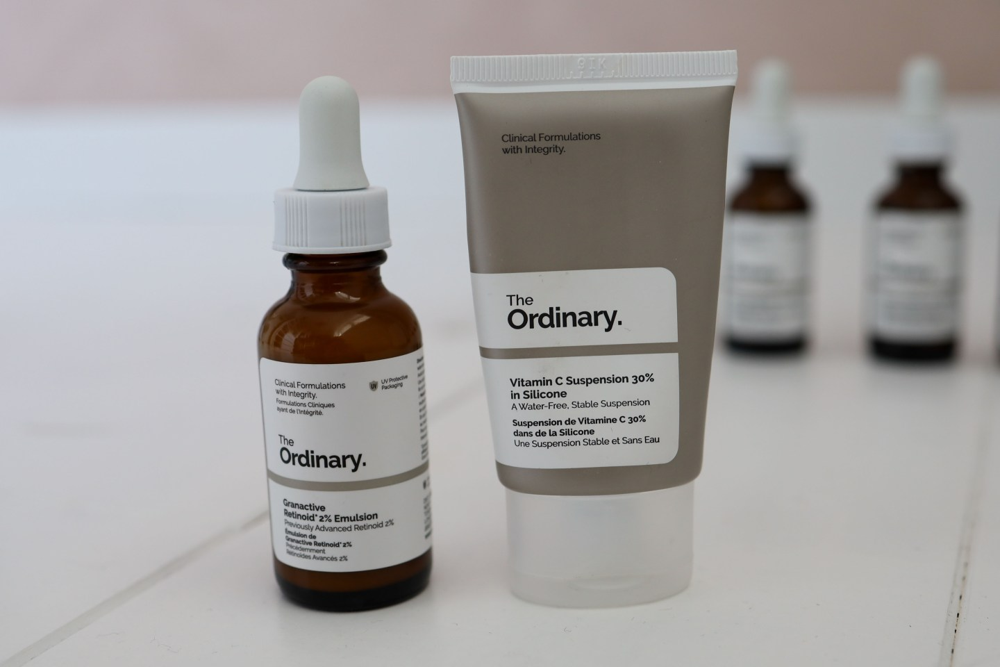 the ordinary retinol en vitamine c