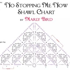 How To Make Crochet Pattern Diagram Start Stop Switch Wiring No Stopping Me Now Shawl Chart Marly Bird