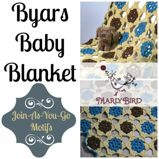 Byars Baby Blanket_Free Crochet Afghan Pattern By Marly Bird
