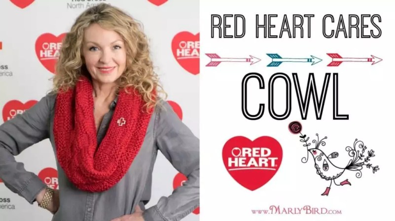 Red Heart Cares Cowl_Thumbnail