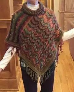 Marly Bird 2016 Popular Poncho Crochet Along