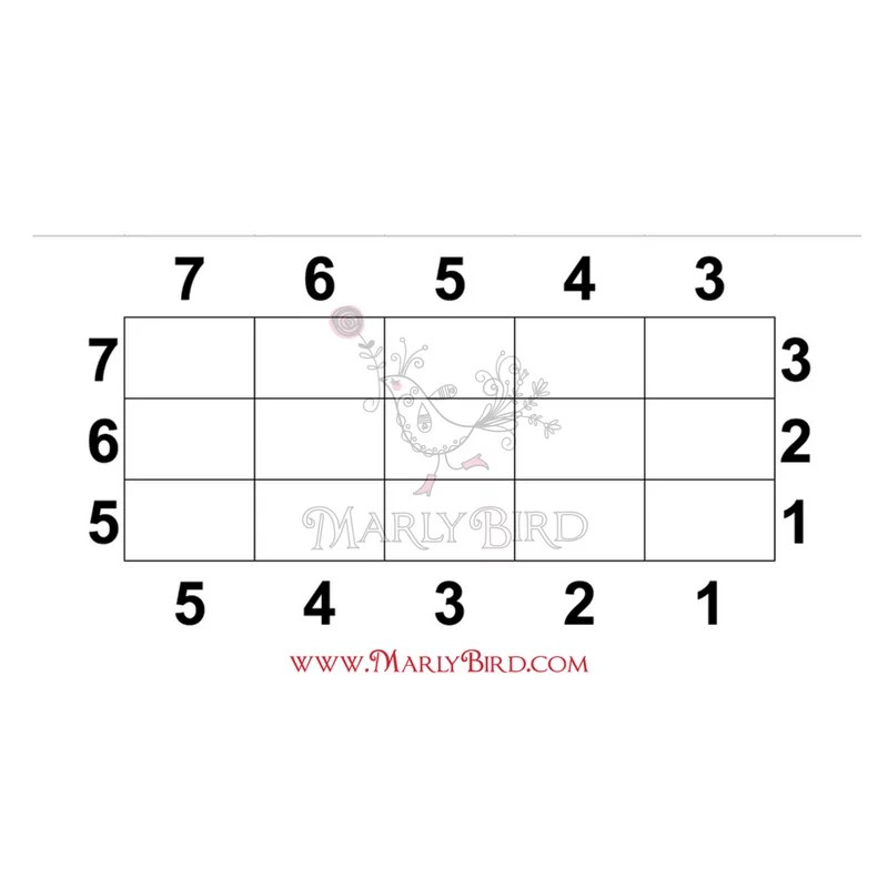 Corner-to-Corner Rectangle chart by Marly Bird free Video Tutorial