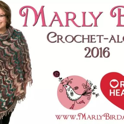 2016 Marly Bird Popular Poncho Crochet Along