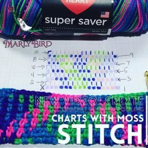 Crochet Planned Pooling Charts with Marly Bird