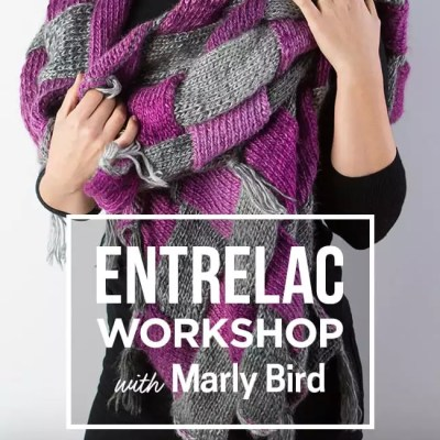 creativebug Knitting Entrelac Class with Marly Bird