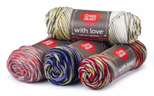 Red Heart Yarn's With Love