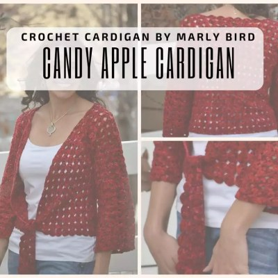 Candy Apple Cardigan $1 Wednesday