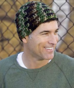 Crochet Head-Hugger Hat