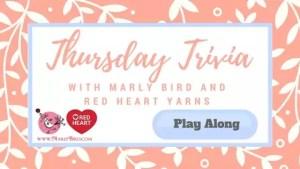 Thursday Trivia with Marly Bird-8/10/17 to 8/16/17