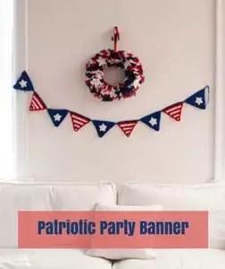 Patriotic Party Banner