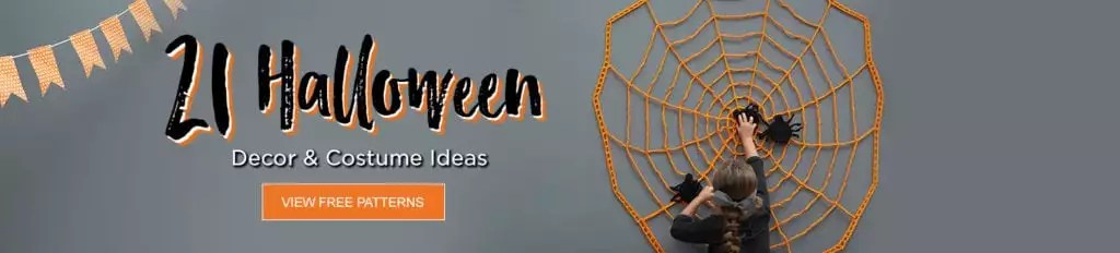 21 Halloween Patterns from Red Heart