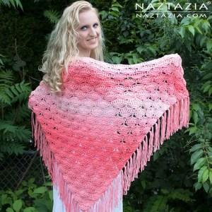Crochet Beachy Keen Shawl by Naztazia