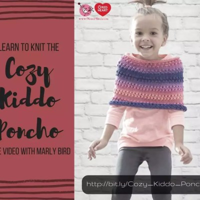Knitting the Cozy Kiddo Poncho