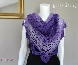 Reign Shawl by Cre*tion Crochet