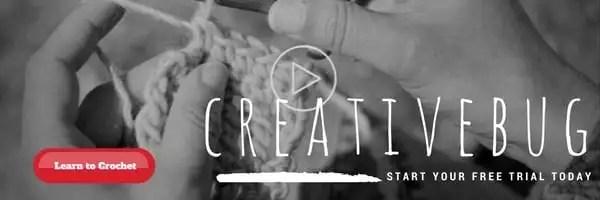 Learn to crochet with creativebug