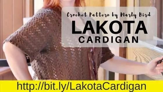 Crochet Cardigan by Marly Bird-Lakota Cardigan