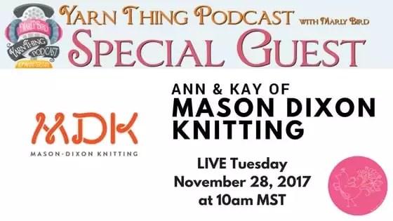 Chat with Mason Dixon Knitting and Marly Bird