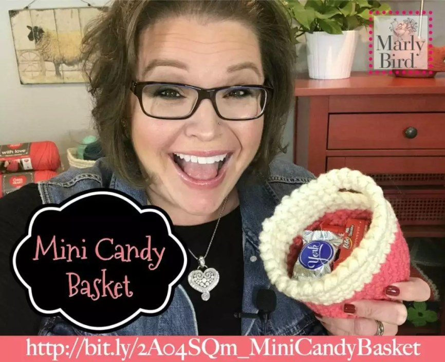 Hygge Mini Candy Basket by Marly Bird Free Pattern