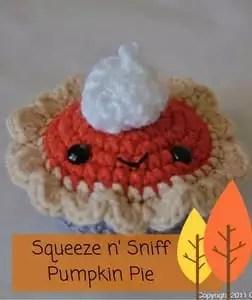 Squeeze n' Sniff Pumpkin Pie Pattern