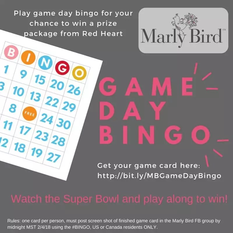 Game Day Bingo with Marly Bird