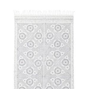 fouta plage gris blanc roxy 300x300 - Ma sélection shopping estivale - dentelle, osier & coquillage