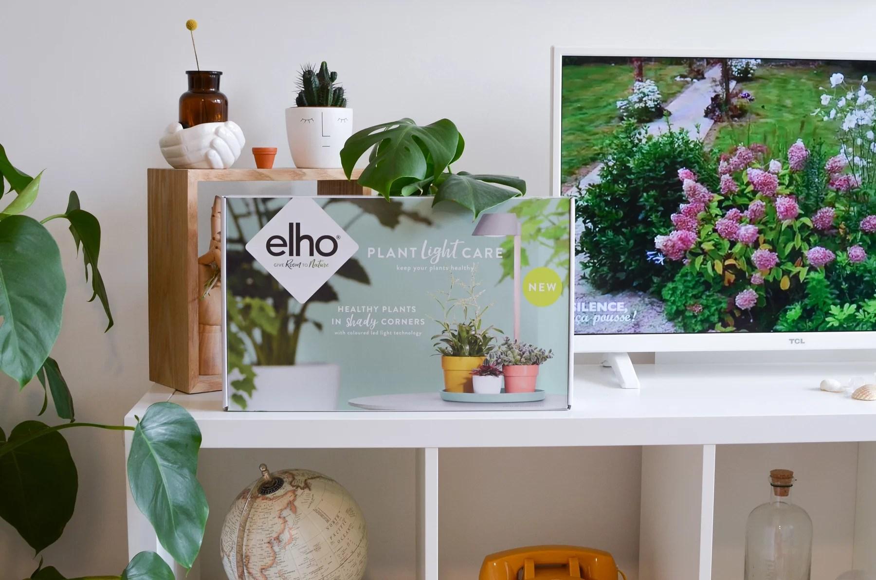 plant light care elho marmille - Mes objets et accessoires design pour ma petite jungle urbaine