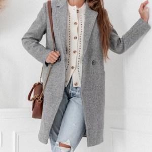 manteau victor long gris anthracite pretty wire marmille 300x300 - Ma sélection shopping d'automne - couleur rouille & nature