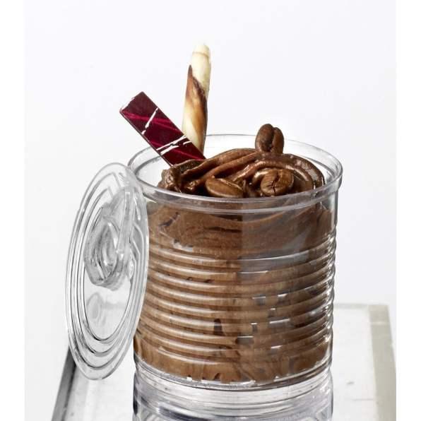 mousse au chocolat verrine