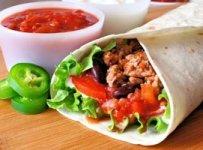 burrito mexicain