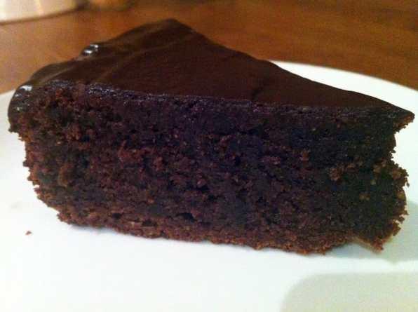 Gâteau au chocolat sans farine patisserie sans gluten