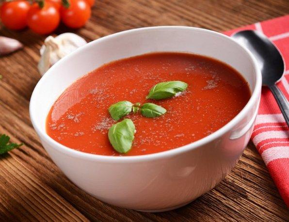 Soupe de tomates allegee light
