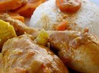 mafé au poulet afrique