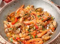 cataplana de fruits de mer recette portugaise