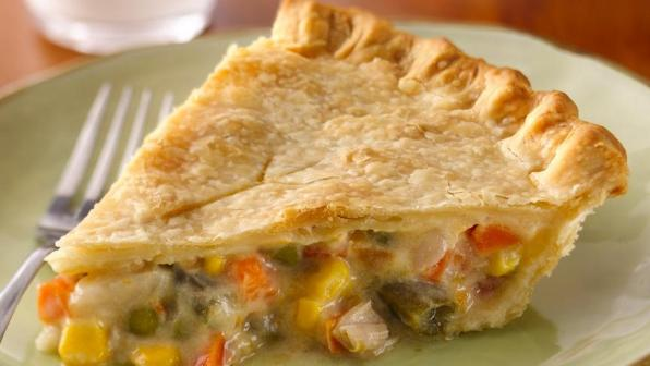 tourte au poulet chicken pie