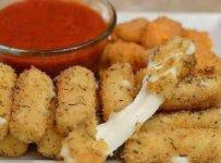 Mozzarella pané