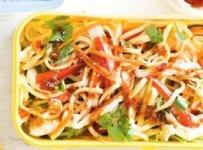 salade de soja et carottes recette