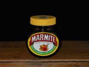 250g Marmite Jar (Close-up)