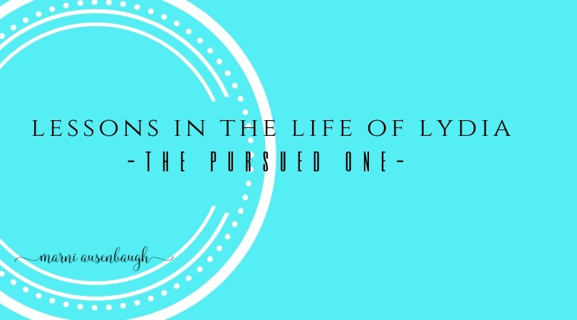 Lydia-The Pursued Woman