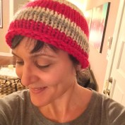 Simple Knit Hat without Border