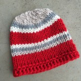 Simple Knit Hat