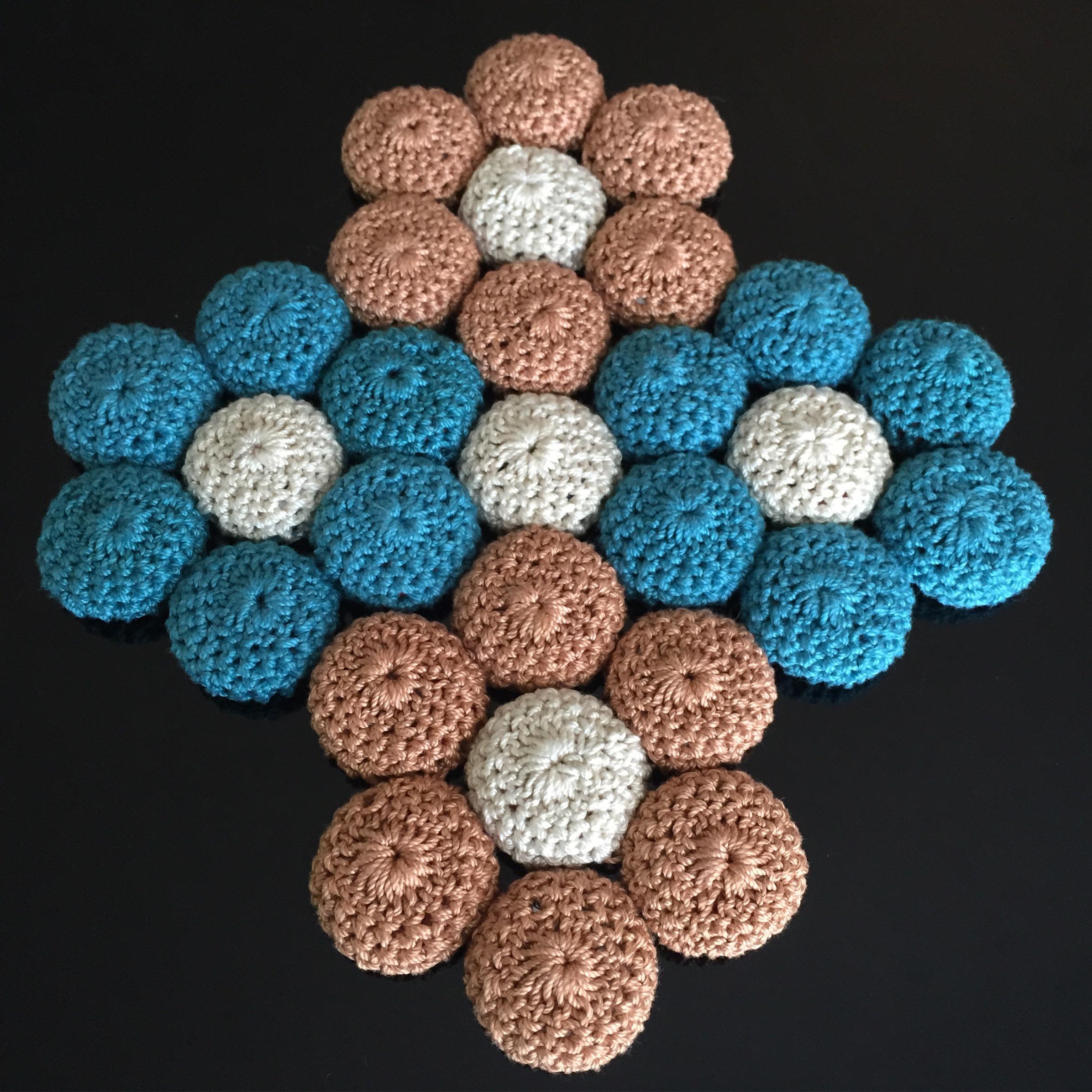 Crocheted Bottle Cap Trivet