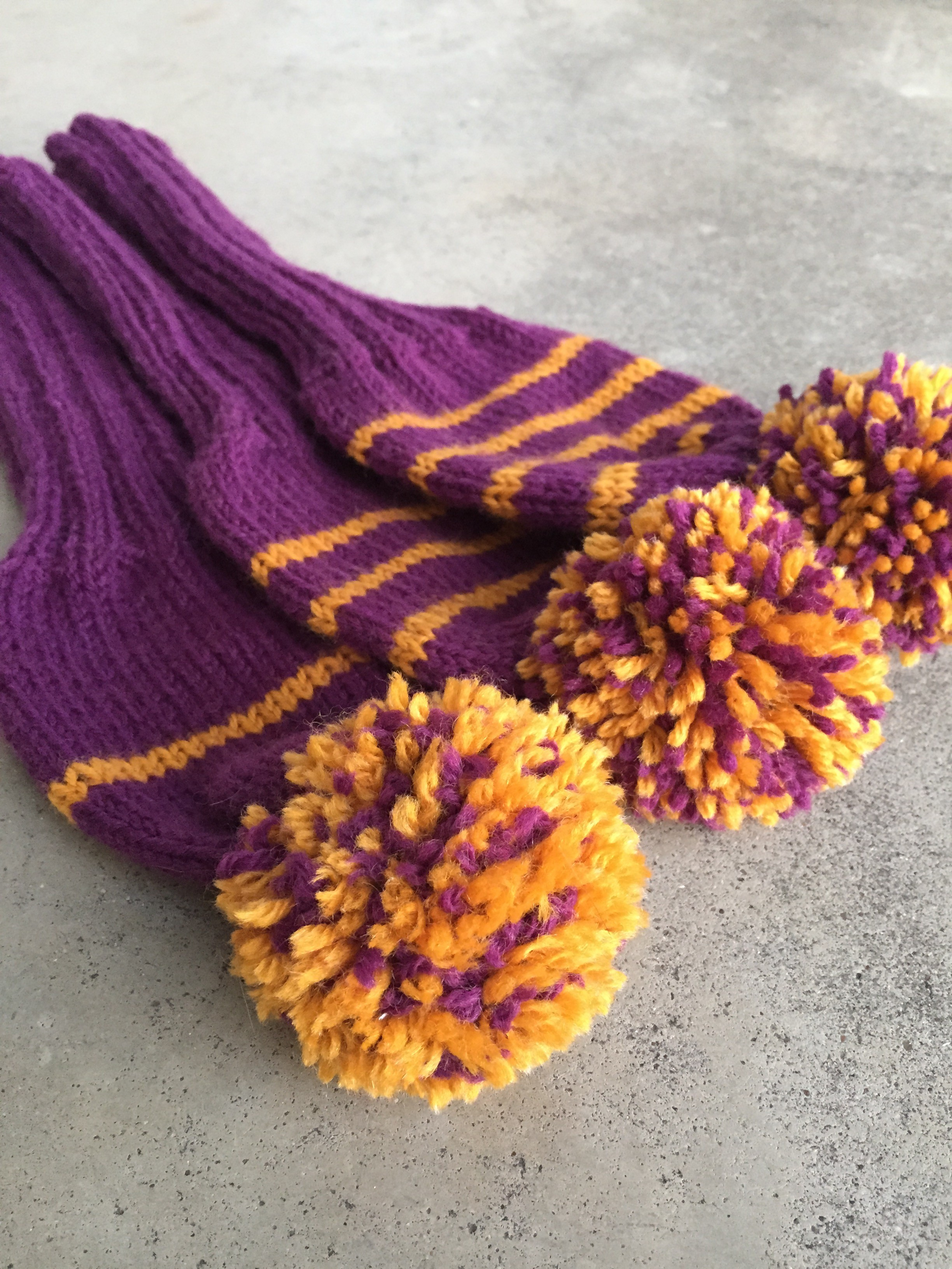 Handknit Golf Club Covers Made By Marni