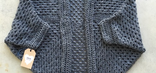 granny square cacoon shrug made by marni