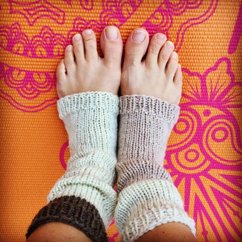 Knitted Yoga Socks mbm