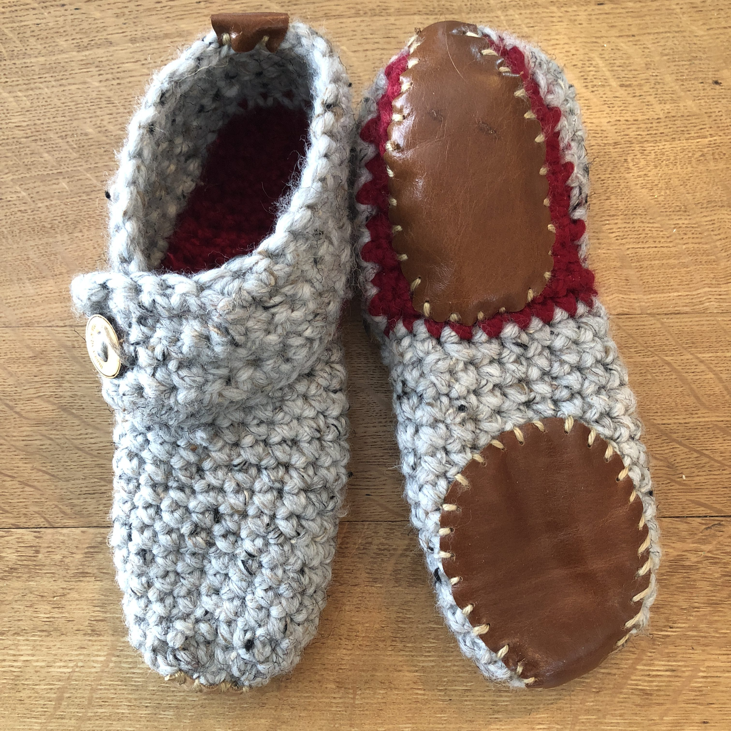 Crocheted Slippers – Free Pattern Review