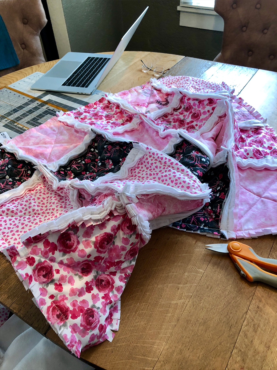 Ragging the Quilt