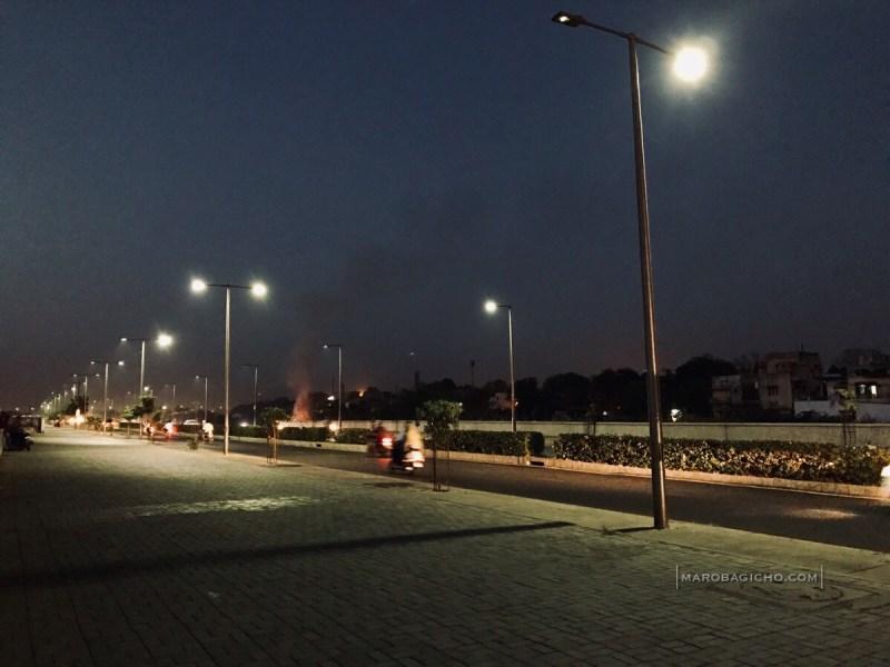 Sabarmati Riverfront Road