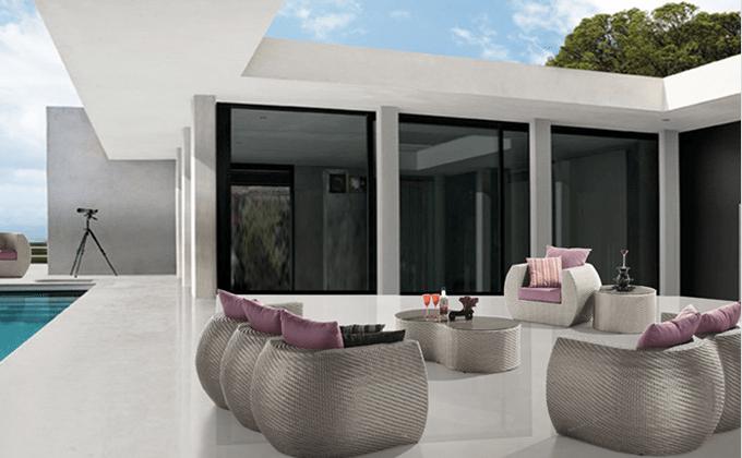 salon de jardin en resine tressee casablanca maroc mobilier de jardins meubles decoration de