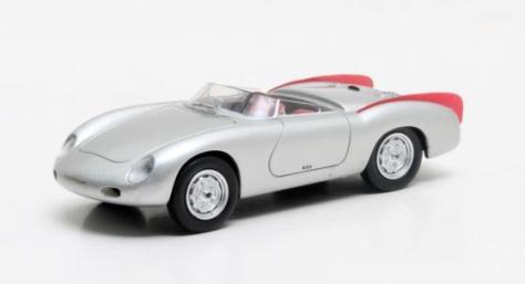 MX41607-061 Porsche 356 Zagato Spyder silver 1958 July